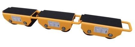 DOSTAWA GRATIS! 44366792 Rolki transportowe, transportery z możliwością łączenia (udźwig: 2500 kg)