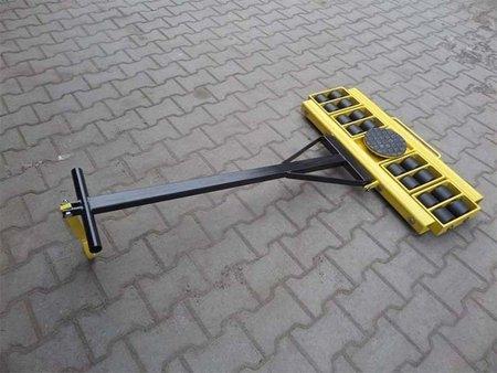 Wózek skrętny 16 rolkowy, rolki: 16x stal (nośność: 22 T) 12267440