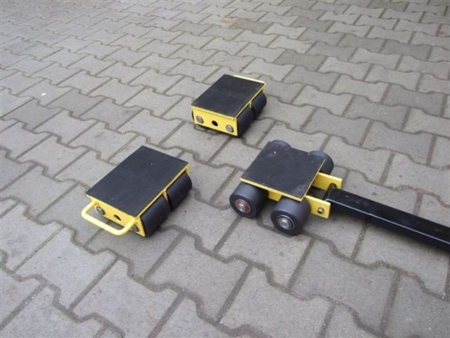 Zestaw wózków, rolki: 12x nylon (nośność: 12 T) 12235618