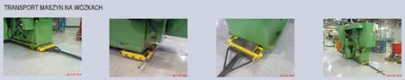 Zestaw wózków, rolki: 36x kompozyt (nośność: 64 T) 12235628